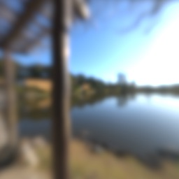 Blurred version of the environment